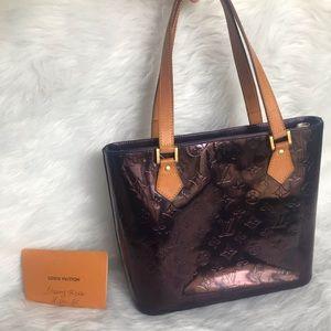 Louis Vuitton Amarante Houston Vernis Purple